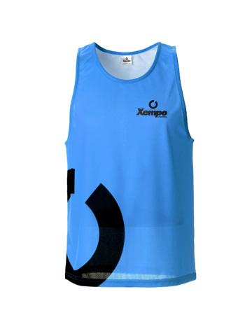 Blue Men's Vest