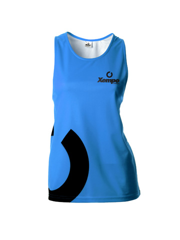 Blue Women's Vest