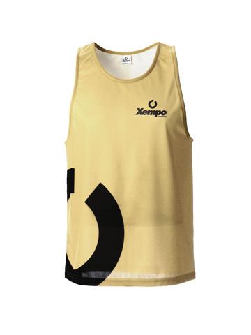 Gold Men's Vest