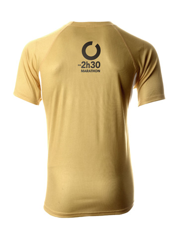 Gold Men's T-Shirt Back