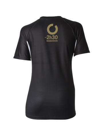 Gold Women's T-Shirt Back