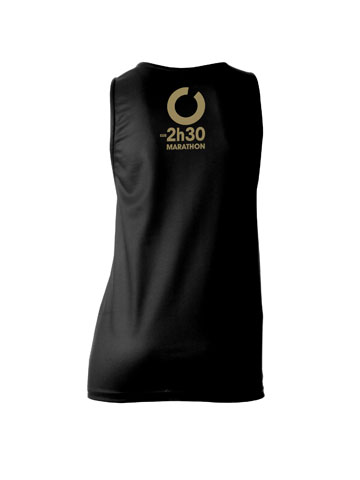 Gold Women's Vest Back