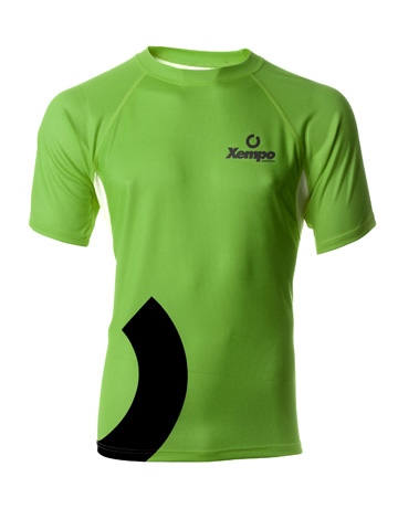 Green Men's T-Shirt Front