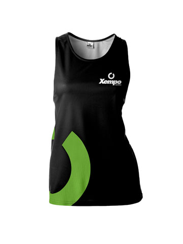 Green Women's Vest
