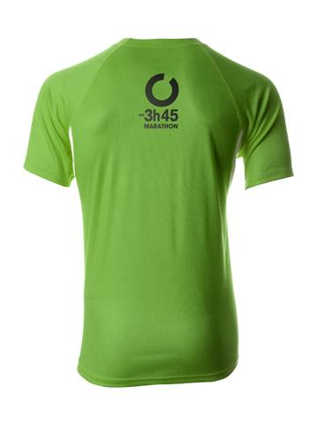 Green Men's T-Shirt Back
