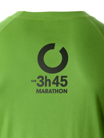 Green Men's T-Shirt Detail