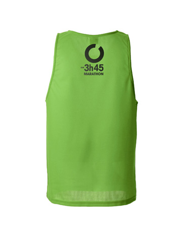Green Men's Vest Back