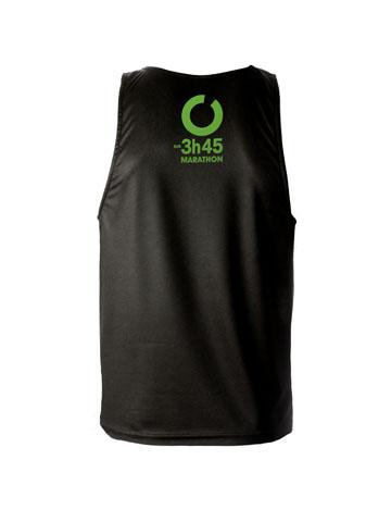 Green Men's Vest Back