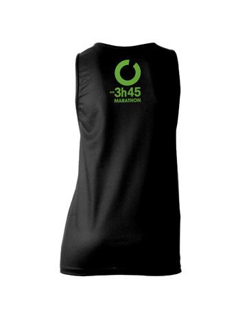 Green Women's Vest Back