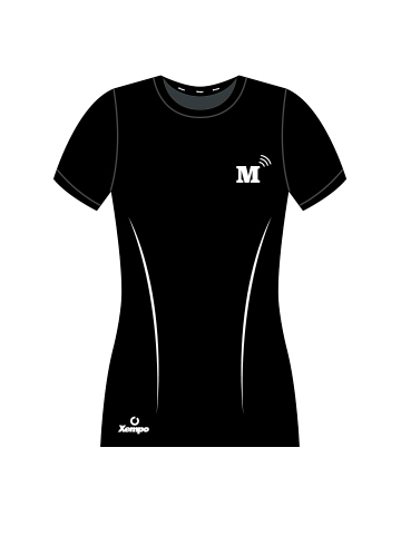 MT T-Shirt, Black - Women's Front