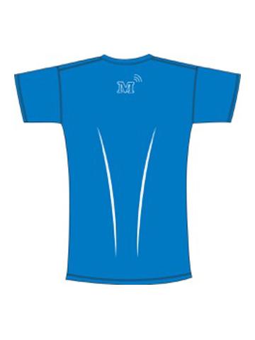 MT T-Shirt, Blue - Men's Back