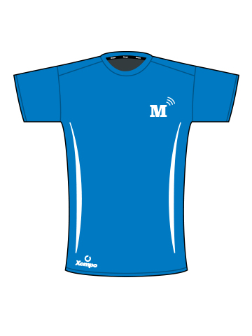 MT T-Shirt, Blue - Men's
