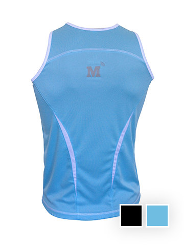 MT Vest, Baby Blue - Women's Back