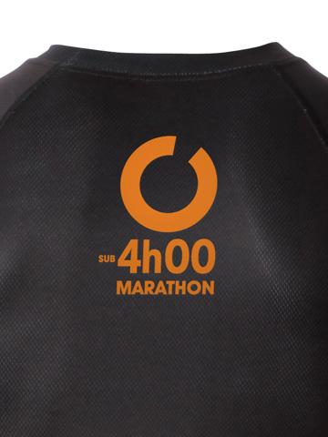 Orange Men's T-Shirt Detail