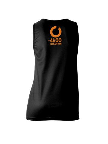 Orange Women's Vest Back