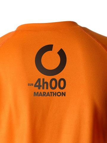 Orange Women's T-Shirt Detail