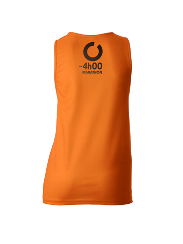 Orange Women's Vest Back