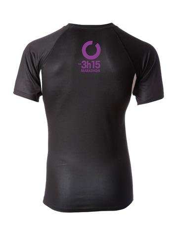 Purple Men's T-Shirt Back