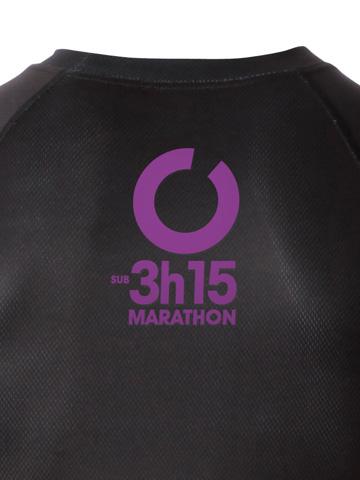 Purple Men's T-Shirt Detail