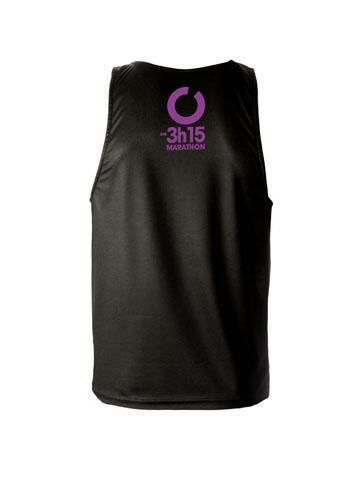 Purple Men's Vest Back
