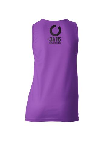 Purple Women's Vest Back