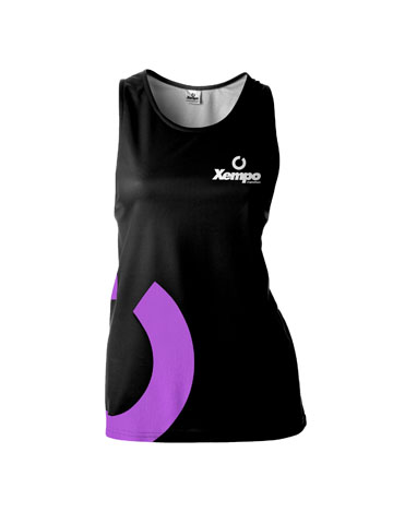 Purple Women's Vest