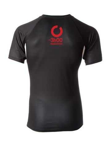 Red Men's T-Shirt Back