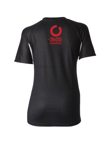 Red Women's T-Shirt Back