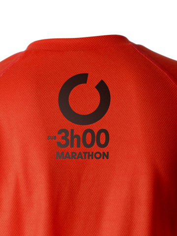 Red Women's T-Shirt Detail