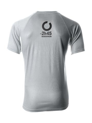 Silver Men's T-Shirt Back