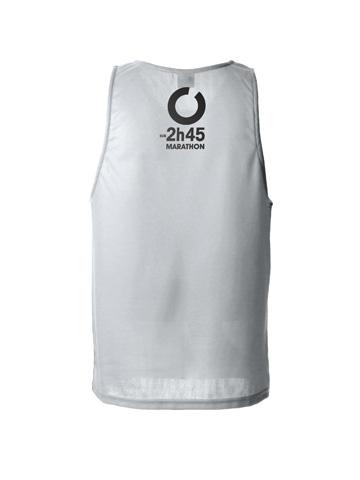 Silver Men's Vest Back