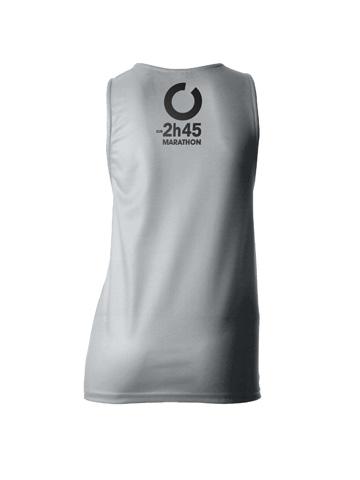 Silver Women's Vest Back