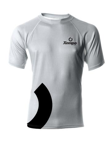 Silver Men's T-Shirt