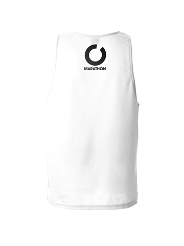 White Men's Vest Back