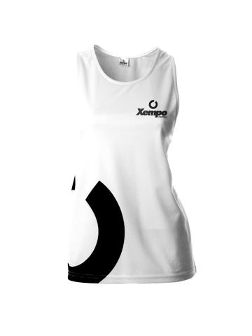 White Women's Vest