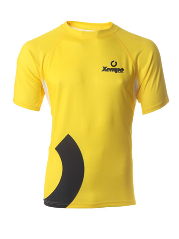 Yellow Men's T-Shirt