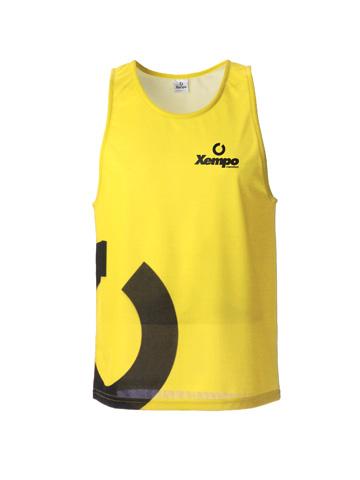 Yellow Men's Vest