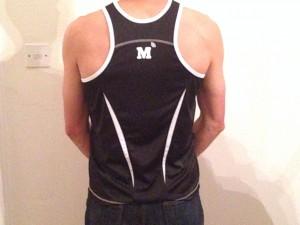 Men's vest - back